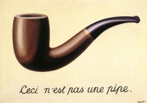 Treachery of Images by Magritte