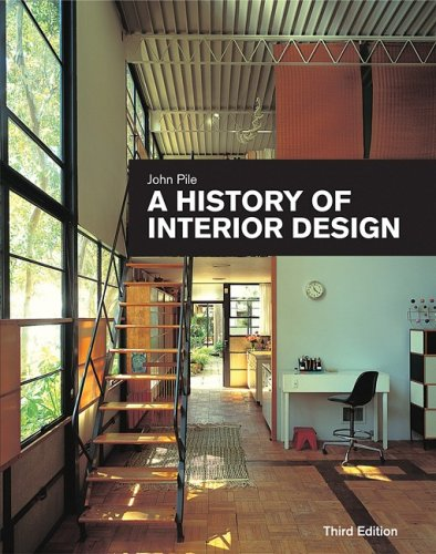 Cover of A History of Interior Design (3rd ed.) by John Pile
