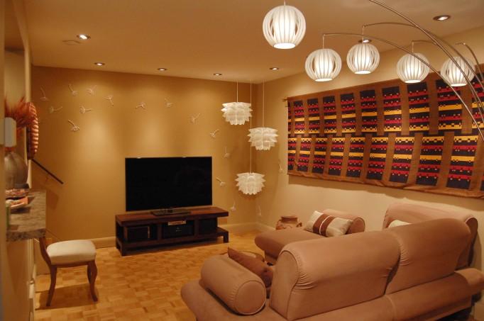 Lighting Design Living Room Renovation Project