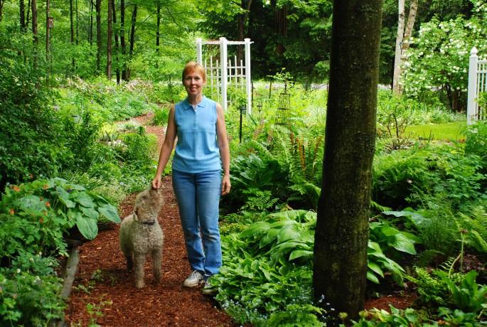 Master Gardeners Society of Ottawa member Mary Ann Van Berlo