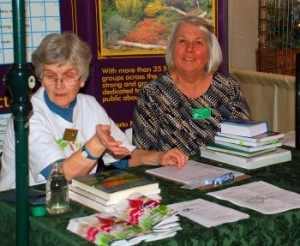 Master Gardeners of Ottawa Carleton Help Booth at a local event.