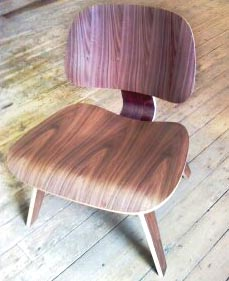 The Lounge Wood Chair by Charles and Ray Eames