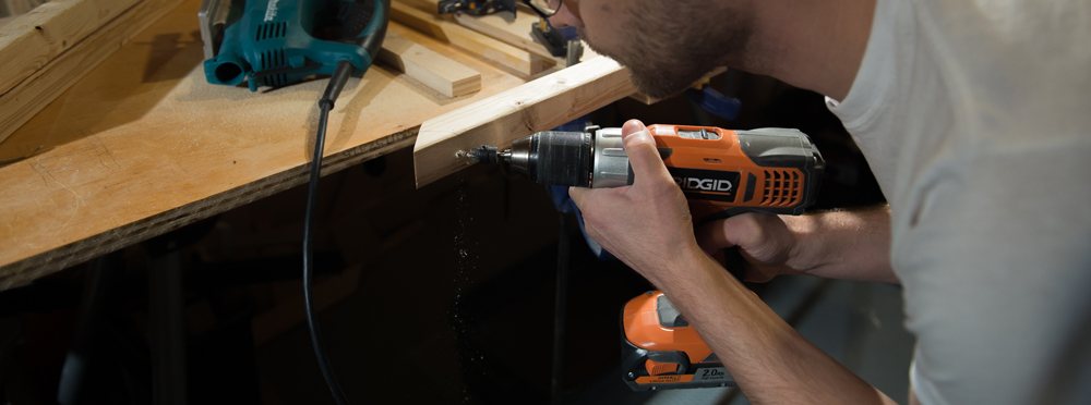 pre-drilling holes for screws